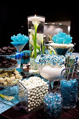 Party planning custom centerpieces media pa candy